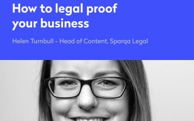 Webinar – How to legal proof your business