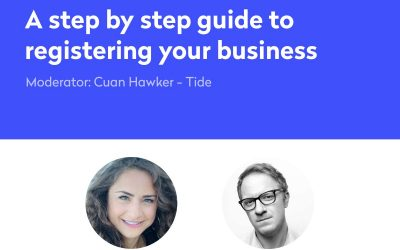 Webinar – A step by step guide to registering your business