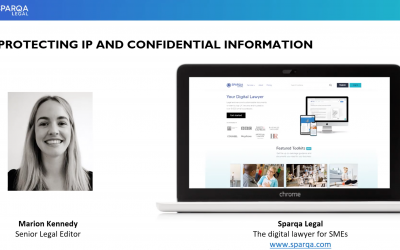 Webinar – Protecting IP and confidential information