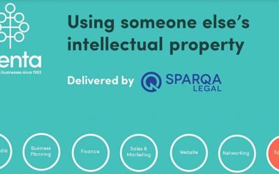 Webinar – Using someone else's intellectual property